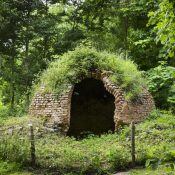 The icehouse at Croome Park, Croome D'Abitot, Worcestershire.