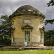 The Rotunda at Croome Park, Croome D'Abitot, Worcestershire.